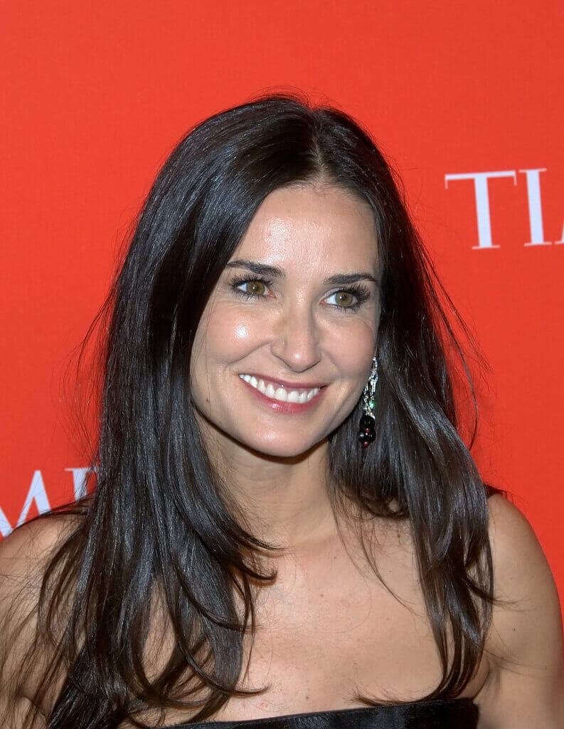 Demi Moore 2010 NYC