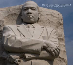 Martin Luther King, Jr. Memorial -- The Mall Washington (DC) September 2011
