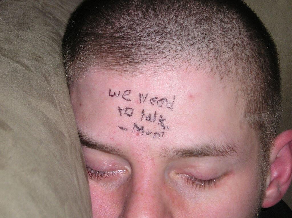 Young Adult Asleep