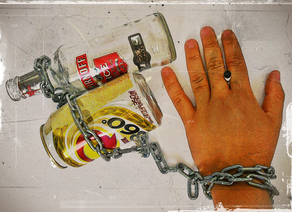 Chains of alcoholism