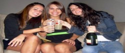 Women binge drink