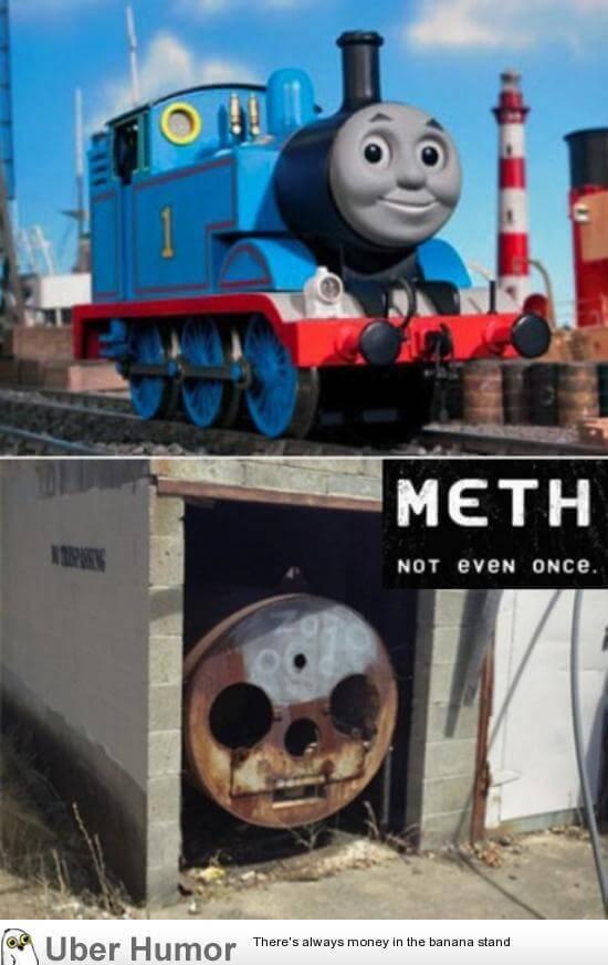 Thomas Tank Engine on Meth