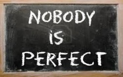 Thank God I am not perfect